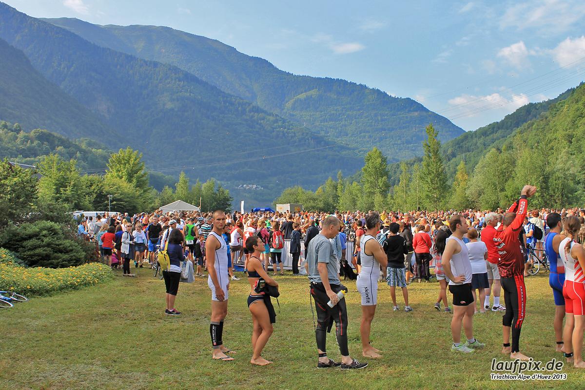 Triathlon Alpe d'Huez - Swim 2013 - 1