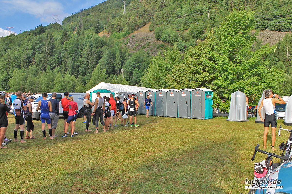 Triathlon Alpe d'Huez - Swim 2013 Foto (2)