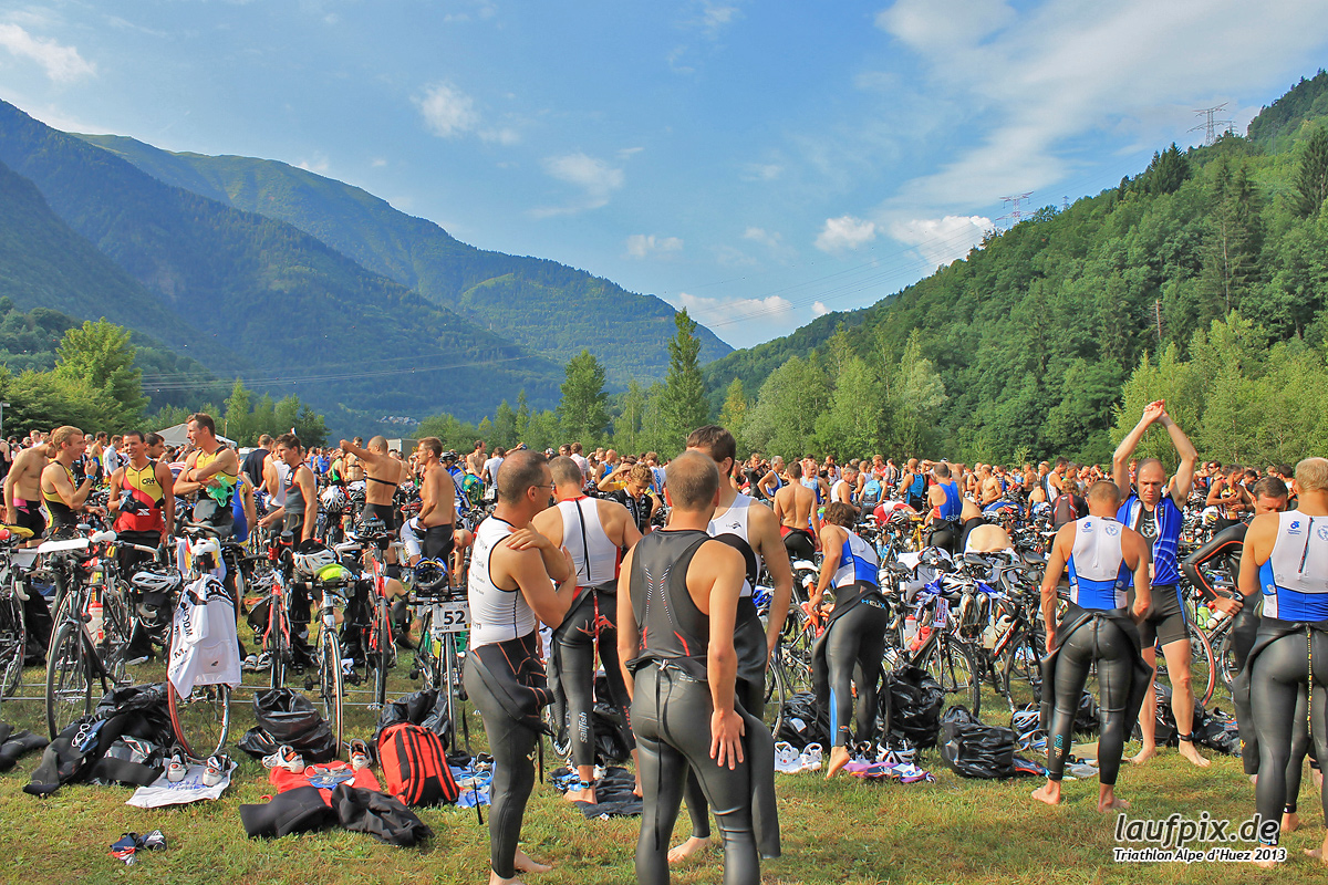 Triathlon Alpe d'Huez - Swim 2013 - 3