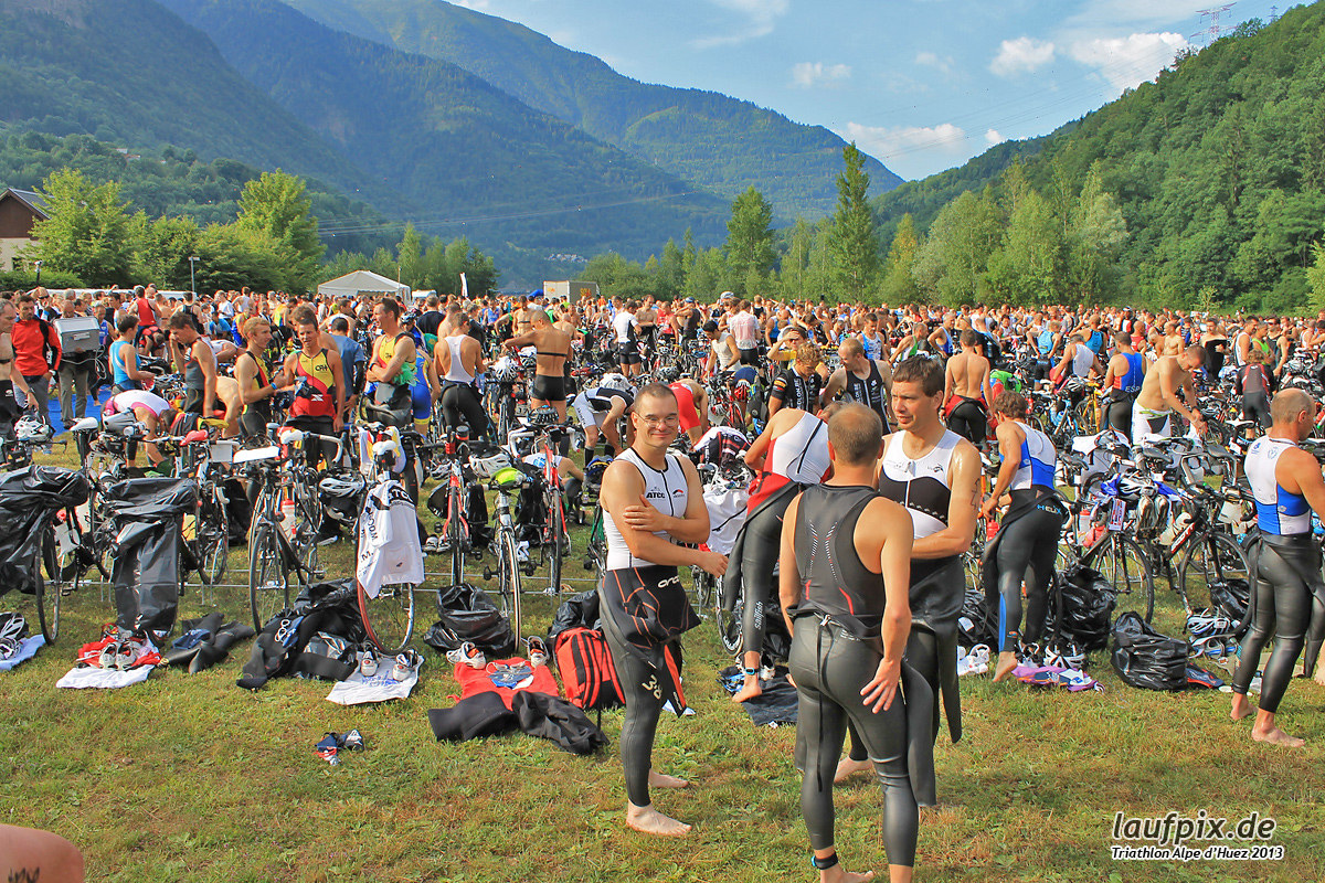 Triathlon Alpe d'Huez - Swim 2013 - 4