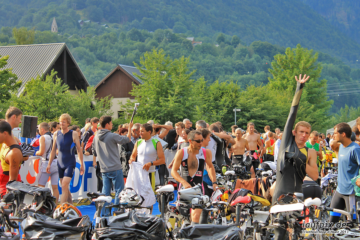 Triathlon Alpe d'Huez - Swim 2013 - 5