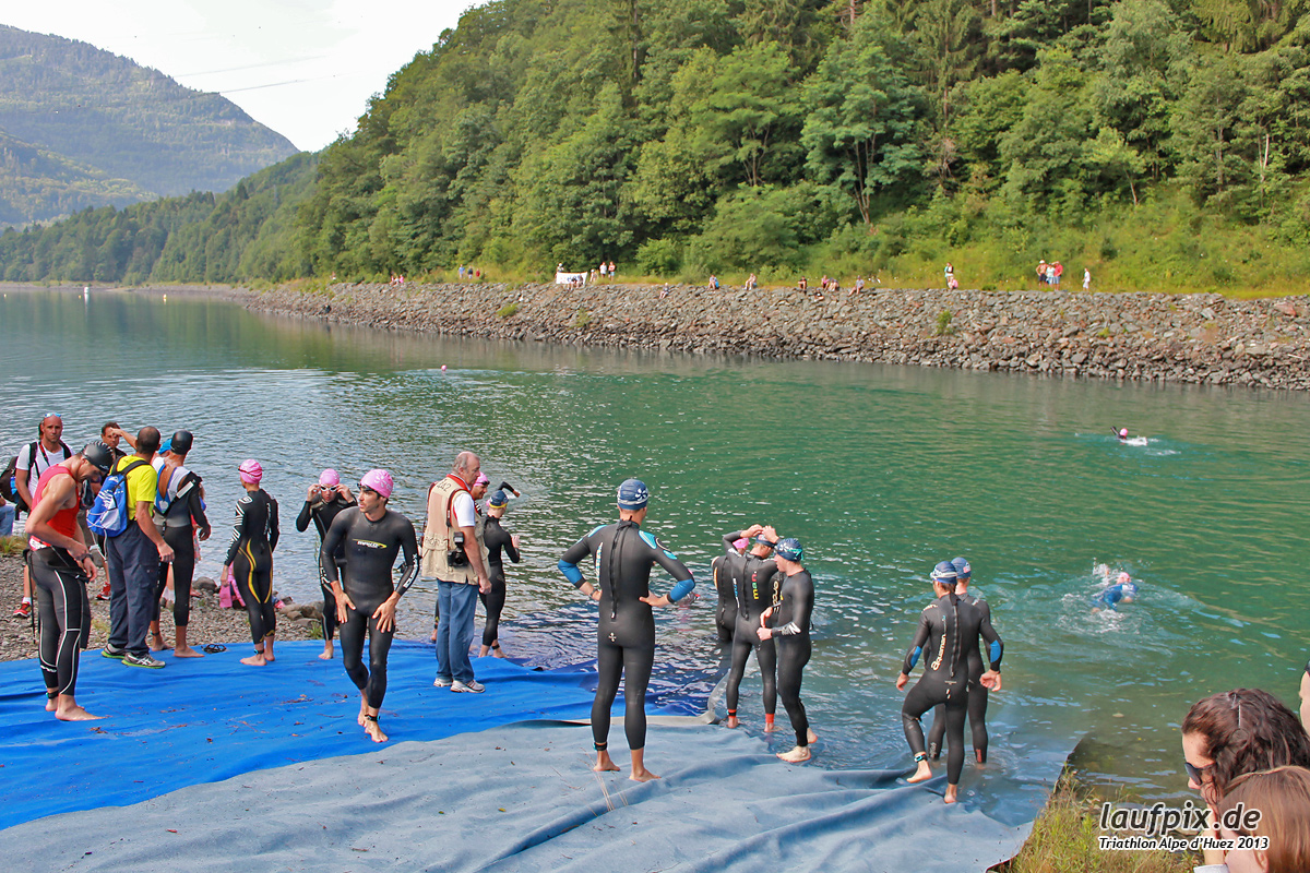 Triathlon Alpe d'Huez - Swim 2013 - 6