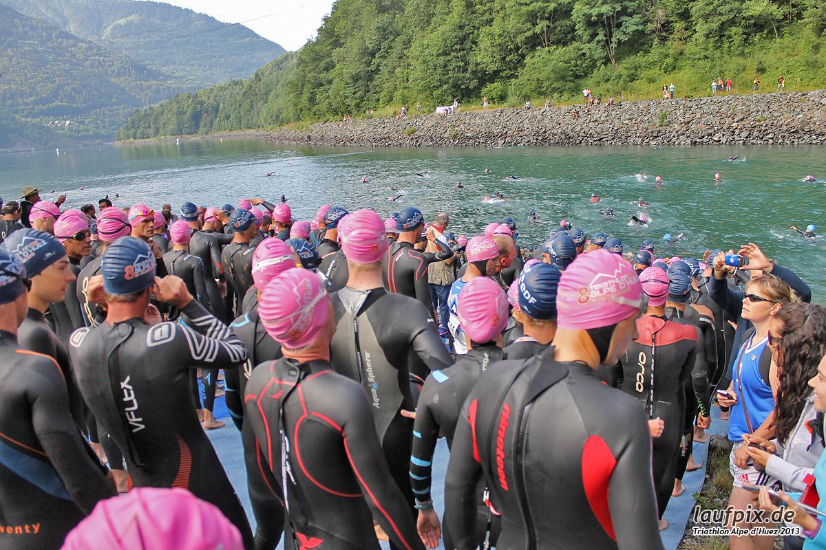 Triathlon Alpe d'Huez - Swim 2013 - 12
