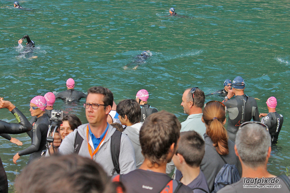Triathlon Alpe d'Huez - Swim 2013 - 13