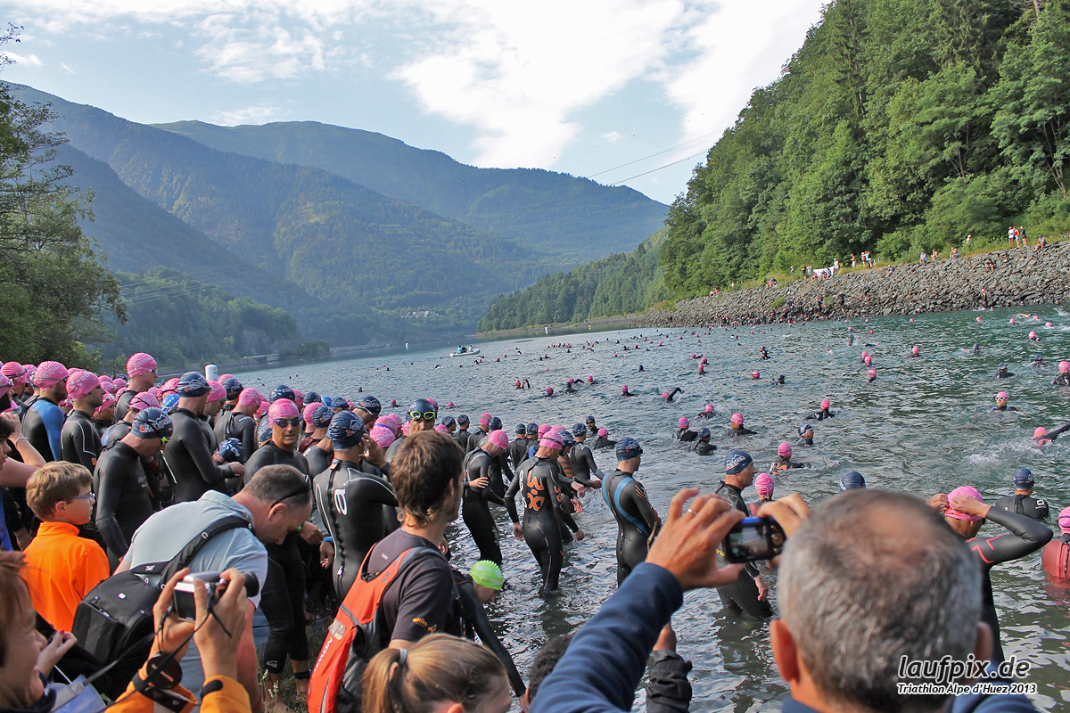 Triathlon Alpe d'Huez - Swim 2013 - 17