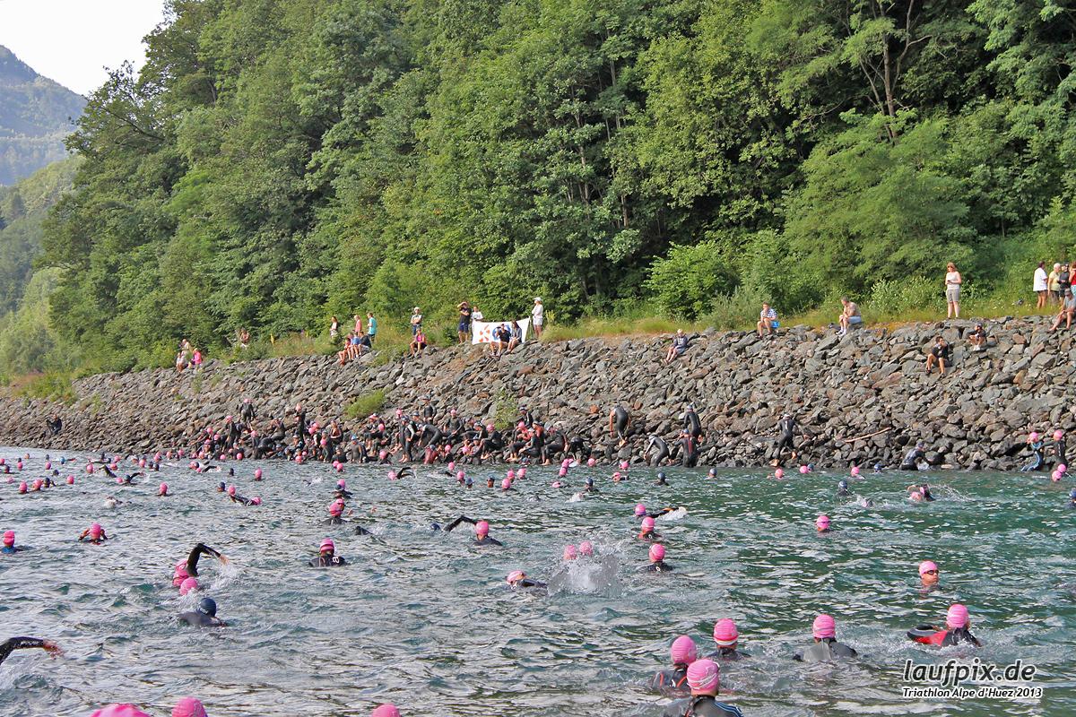 Triathlon Alpe d'Huez - Swim 2013 - 18