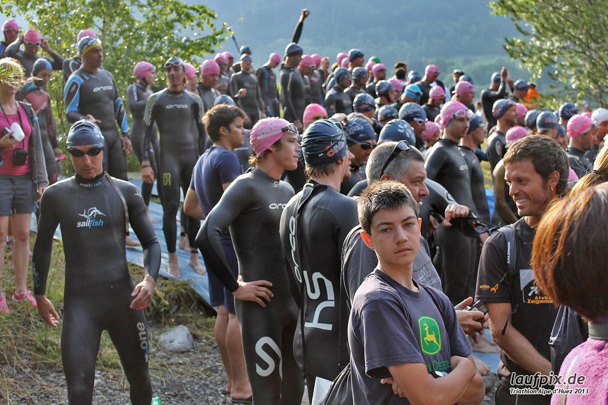 Triathlon Alpe d'Huez - Swim 2013 Foto (19)