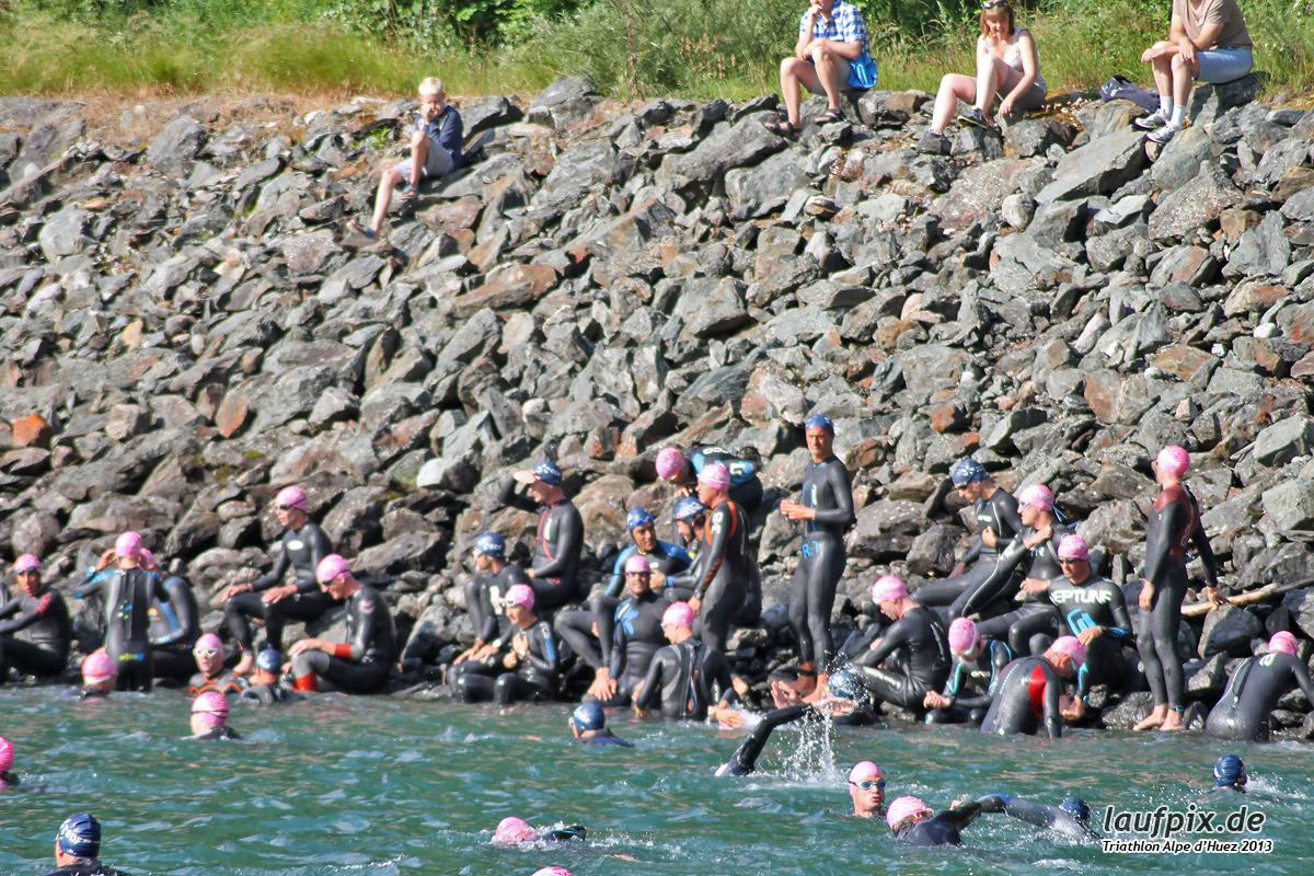 Triathlon Alpe d'Huez - Swim 2013 - 20