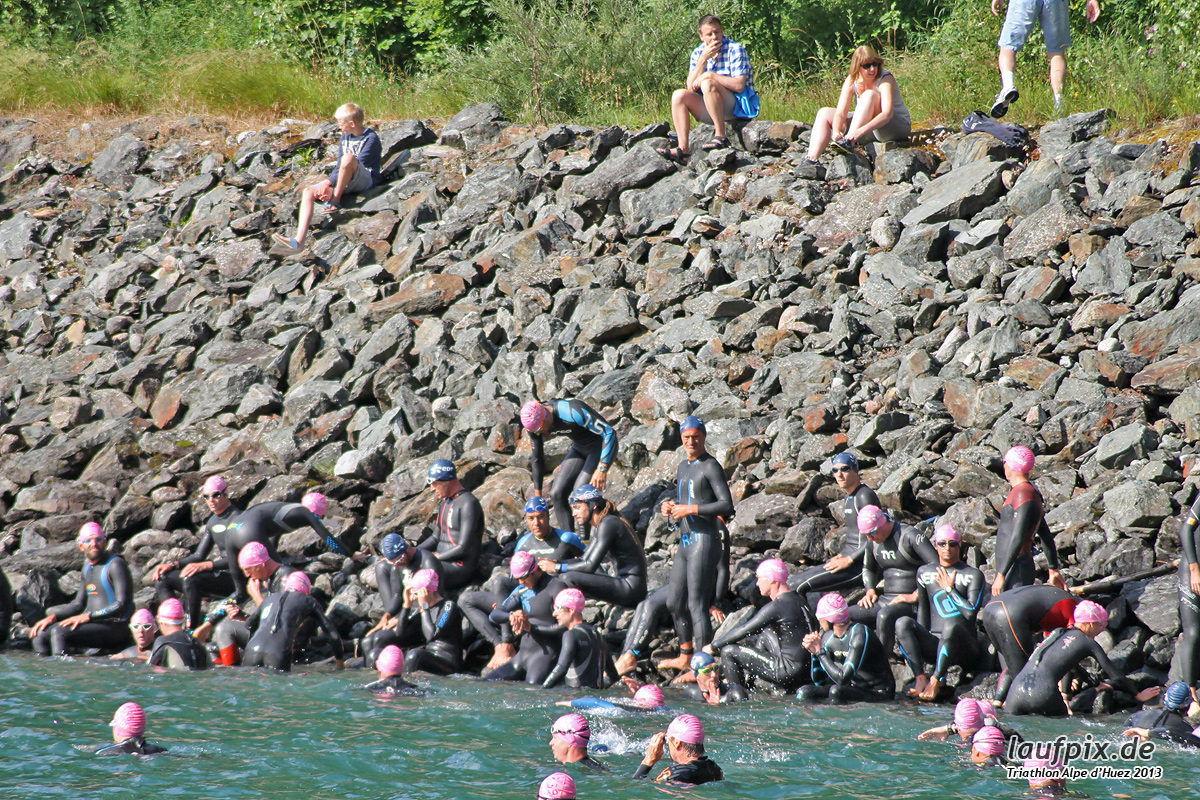 Triathlon Alpe d'Huez - Swim 2013 - 21