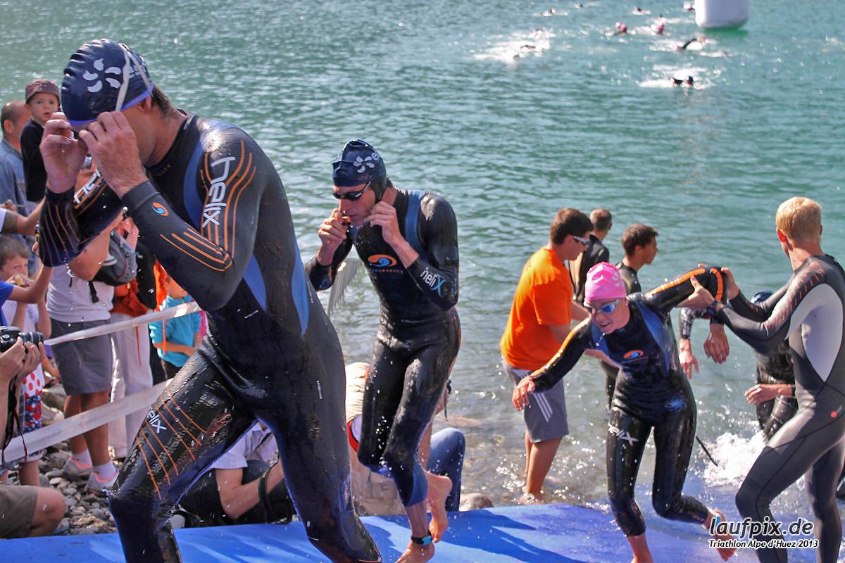 Triathlon Alpe d'Huez - Swim 2013 - 52
