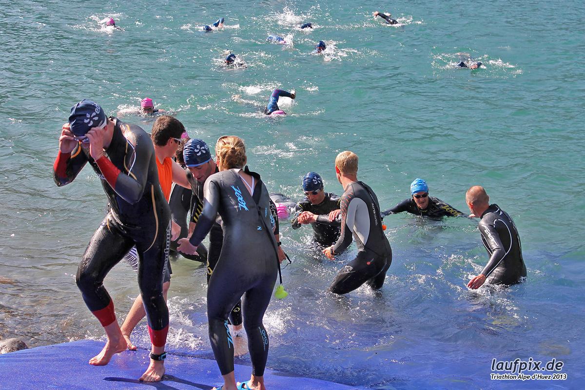 Triathlon Alpe d'Huez - Swim 2013 - 360