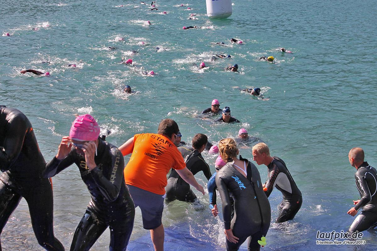 Triathlon Alpe d'Huez - Swim 2013 - 607