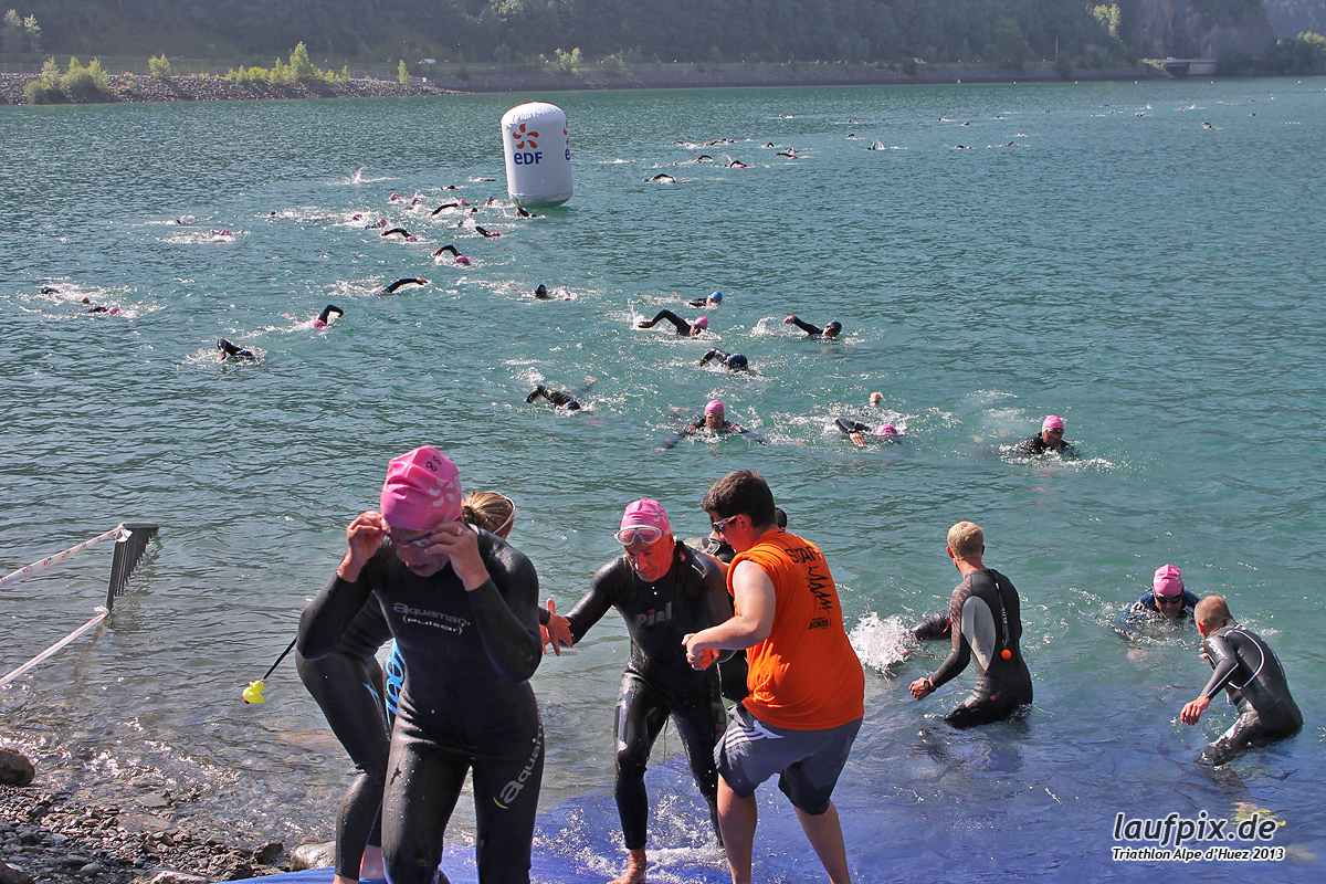 Triathlon Alpe d'Huez - Swim 2013 - 749