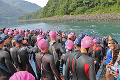 Triathlon Alpe d'Huez - Swim 2013 - 12