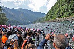 Triathlon Alpe d'Huez - Swim 2013 - 17