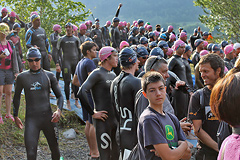 Triathlon Alpe d'Huez - Swim 2013 - 19
