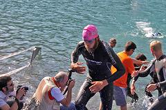 Triathlon Alpe d'Huez - Swim
