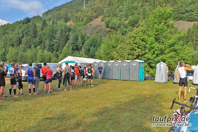 Triathlon Alpe d'Huez - Swim 2013 - 2