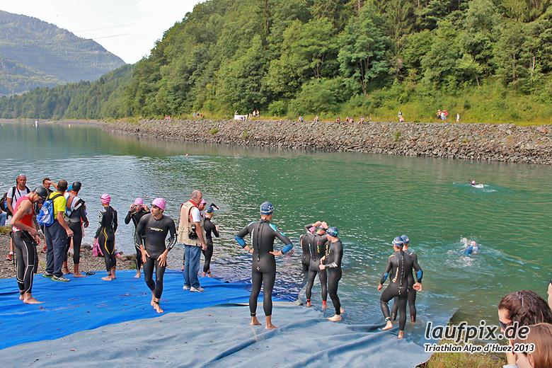 Triathlon Alpe d'Huez - Swim 2013 - 6