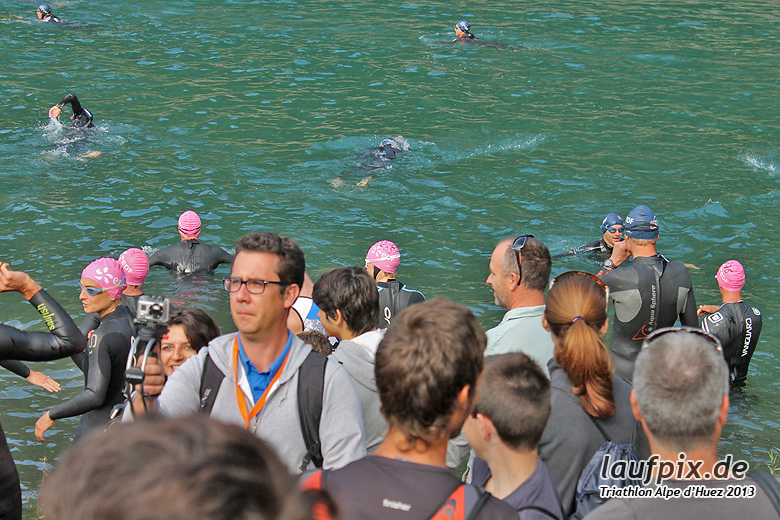 Triathlon Alpe d'Huez - Swim 2013 - 13