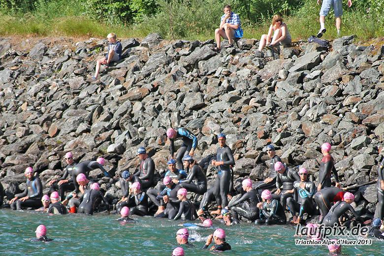 Triathlon Alpe d'Huez - Swim 2013 - 21
