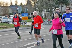 Silvesterlauf Werl Soest - Strecke 1