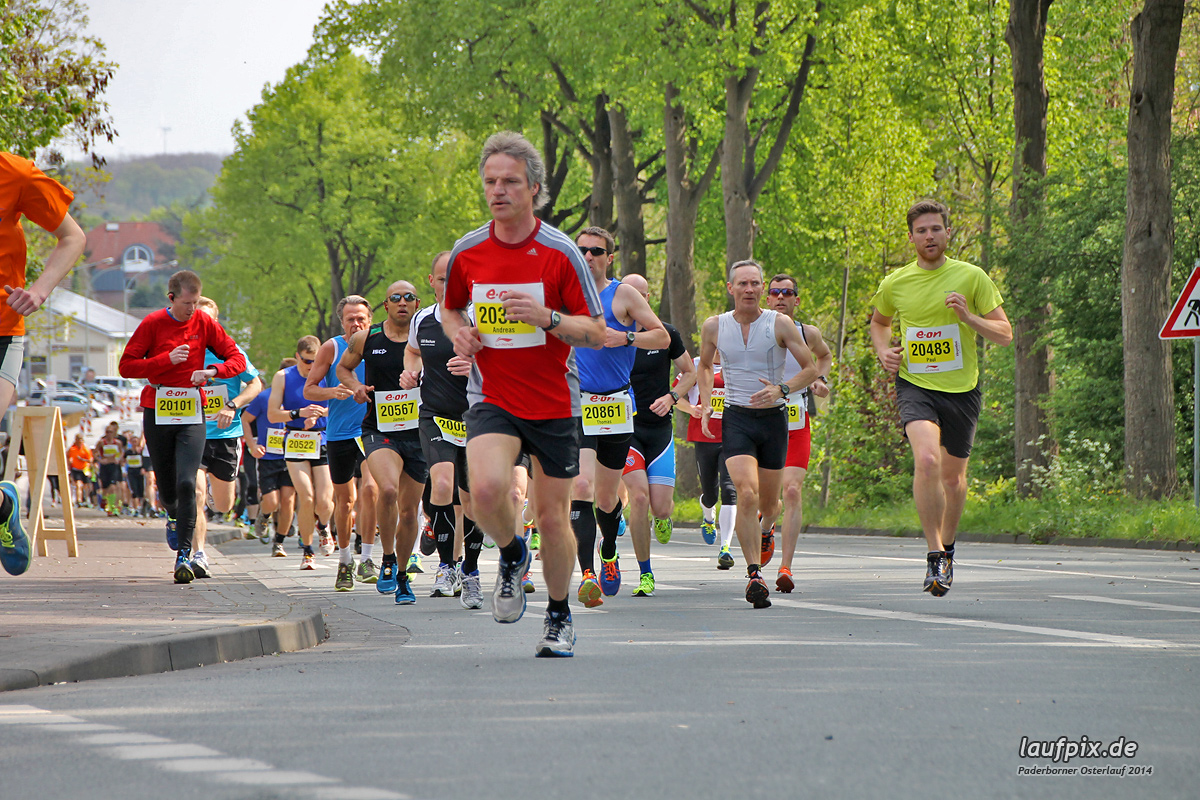 Paderborner Osterlauf 21km 2014 - 48