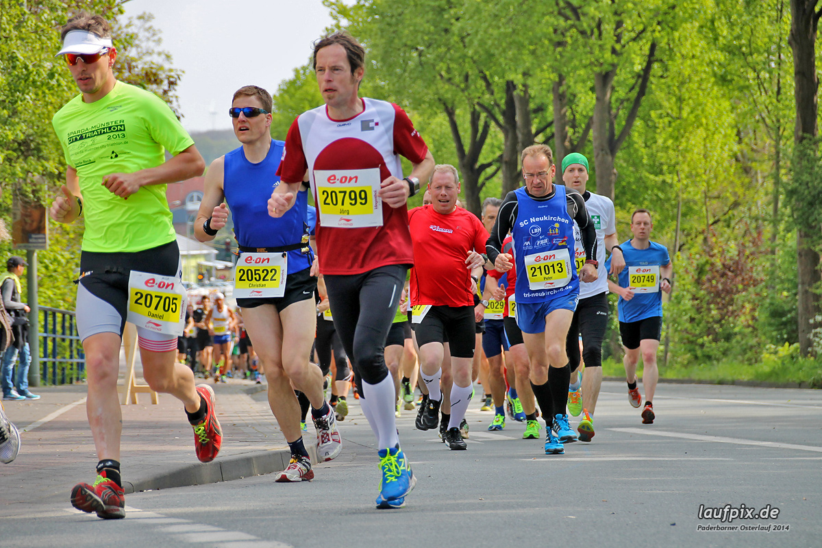 Paderborner Osterlauf 21km 2014 - 57