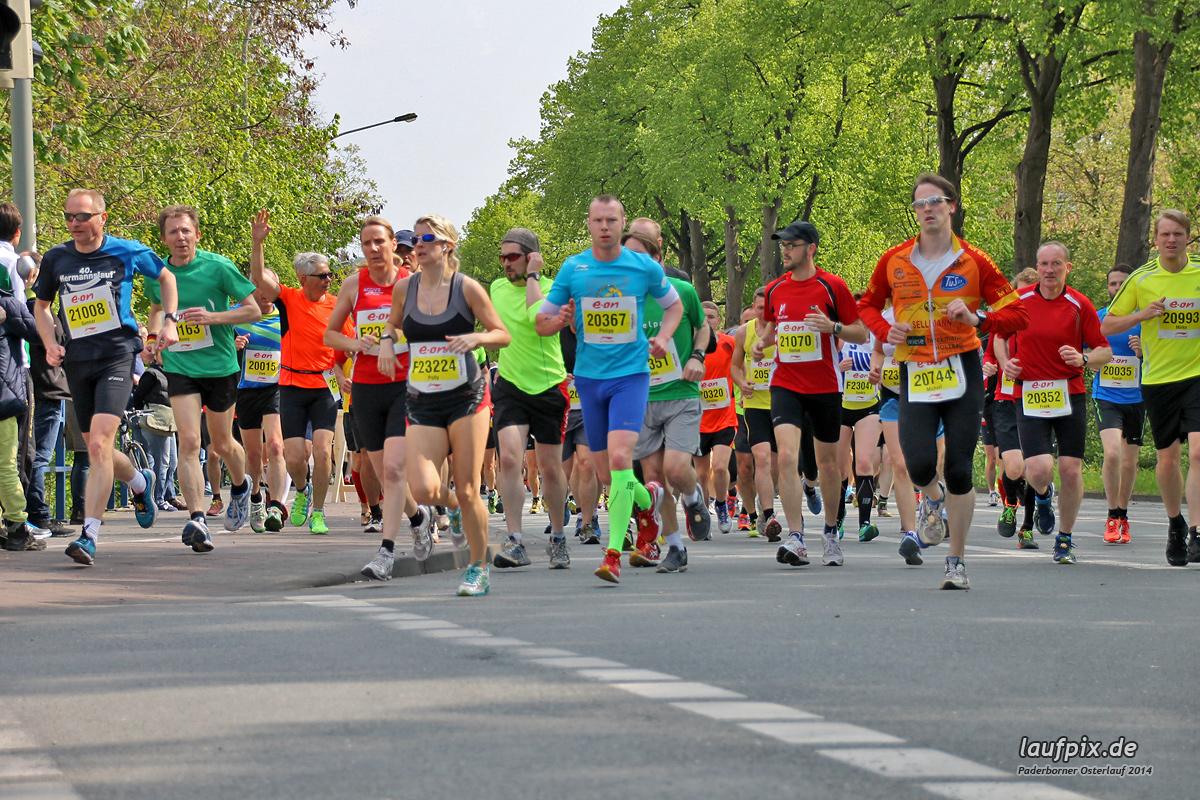 Paderborner Osterlauf 21km 2014