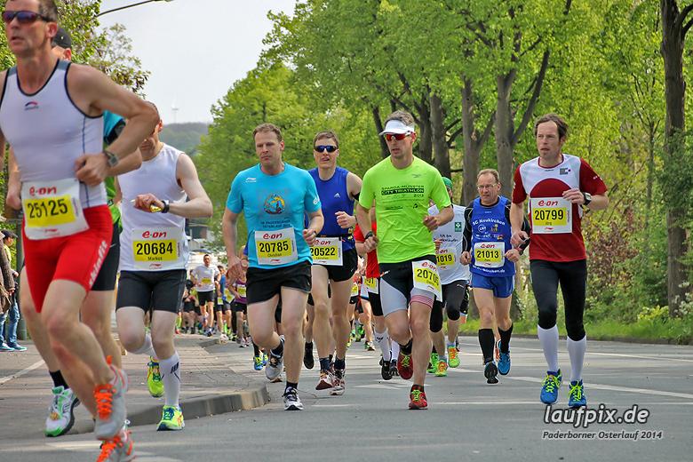 Paderborner Osterlauf 21km 2014 - 55