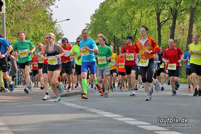 Paderborner Osterlauf 21km 2014 - 146