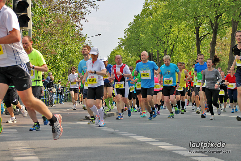 Paderborner Osterlauf 21km 2014 - 192