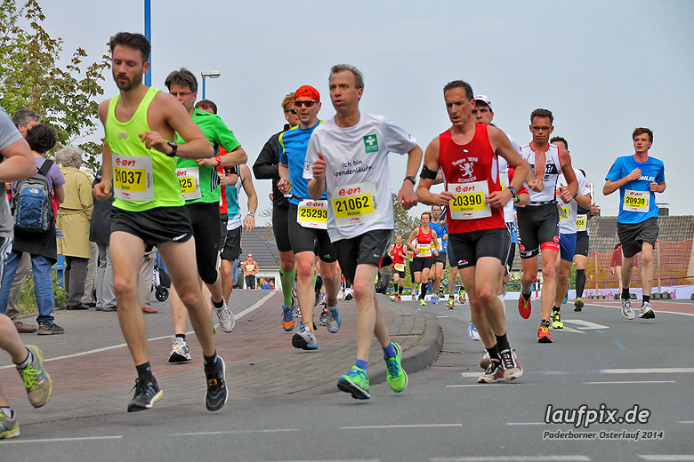 Paderborner Osterlauf 21km 2014 - 155
