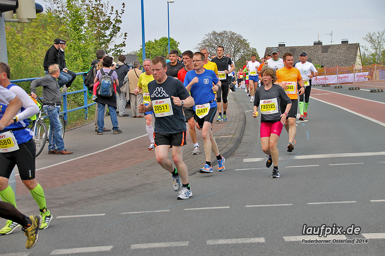 Paderborner Osterlauf 21km 2014 - 356