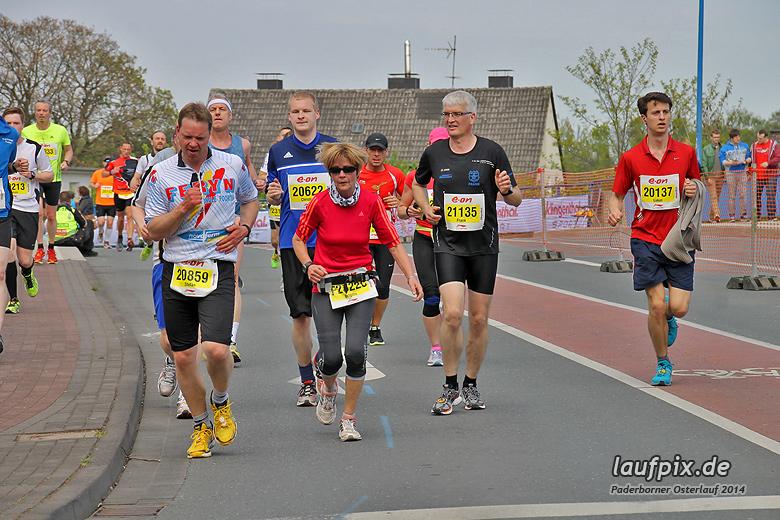 Paderborner Osterlauf 21km 2014 - 427