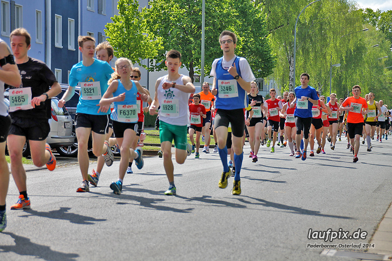 Paderborner Osterlauf 5km 2014 - 17