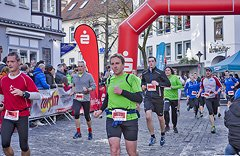 Silvesterlauf Werl Soest - Ziel