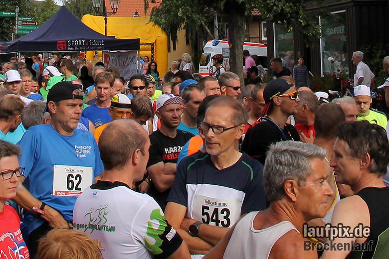 Brockenlauf 26km Start 2016 - 12