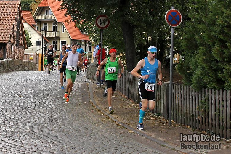 Brockenlauf 26km Start 2016 - 36