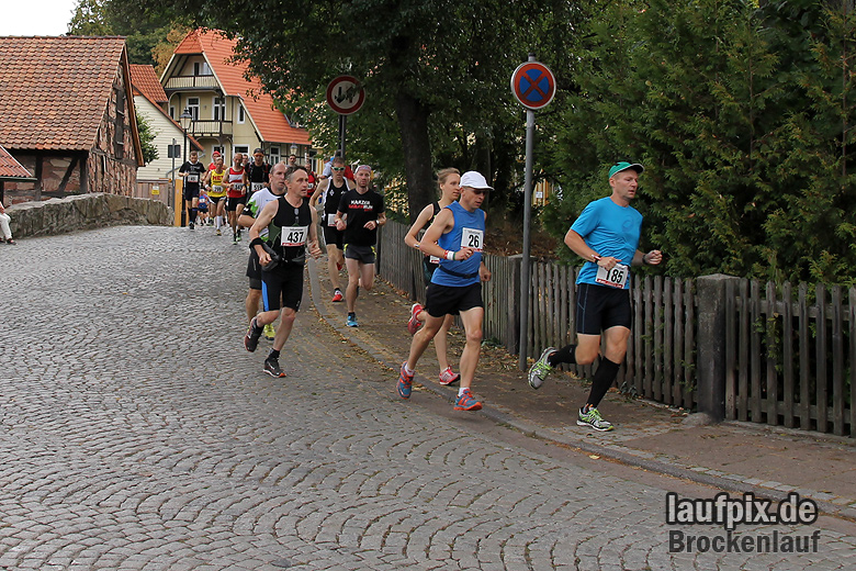 Brockenlauf 26km Start 2016 - 41