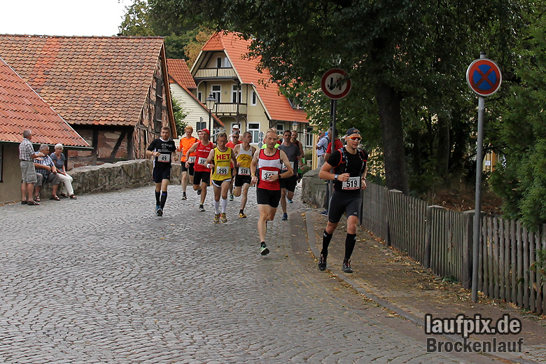 Brockenlauf 26km Start 2016