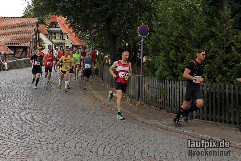 Brockenlauf 26km Start 2016 - 46
