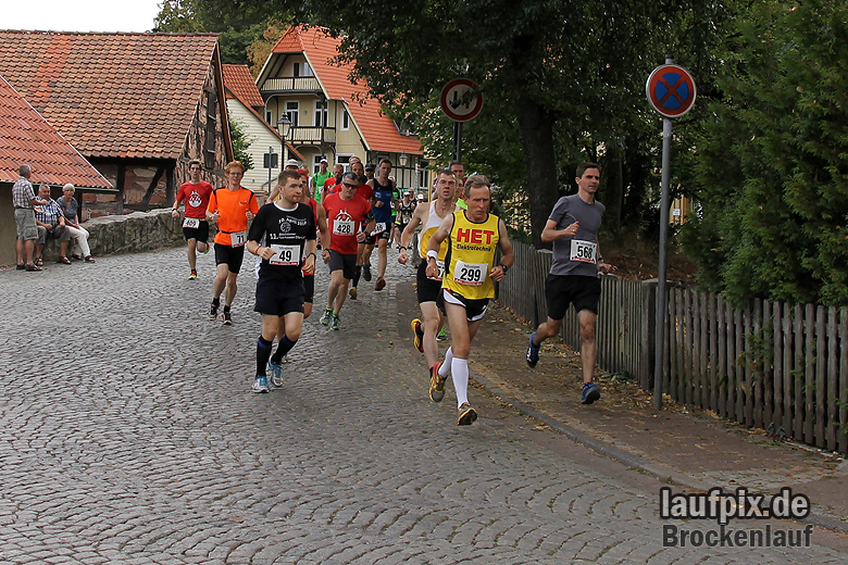 Brockenlauf 26km Start 2016 - 49