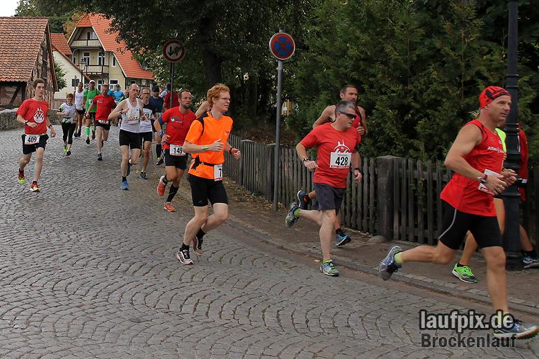 Brockenlauf 26km Start 2016 - 53