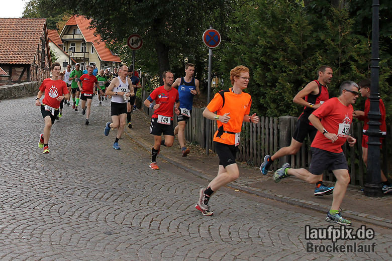 Brockenlauf 26km Start 2016 - 54