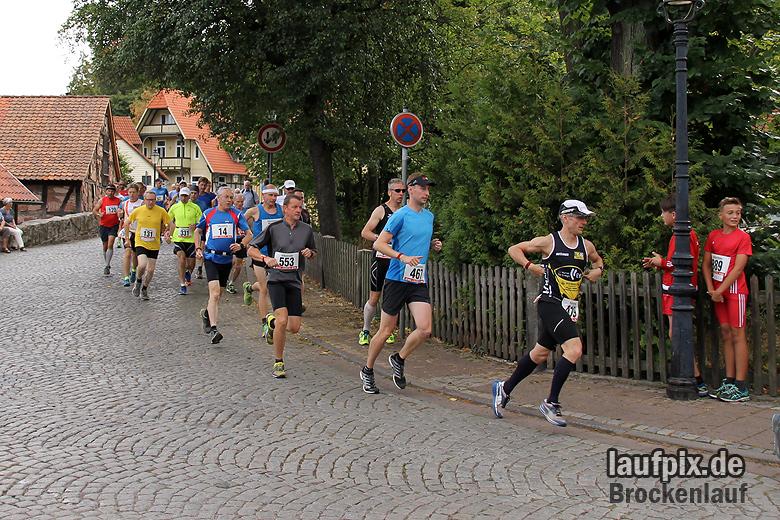 Brockenlauf 26km Start 2016 - 71