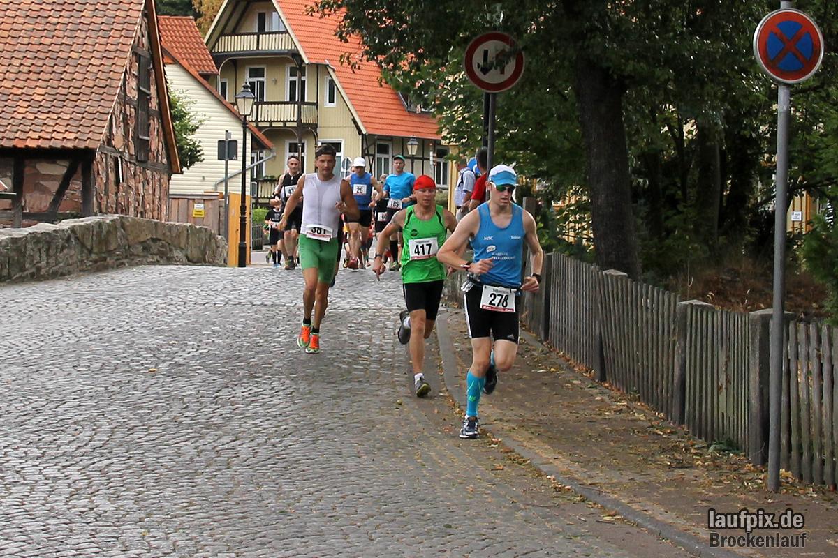 Brockenlauf 26km Start 2016 - 34