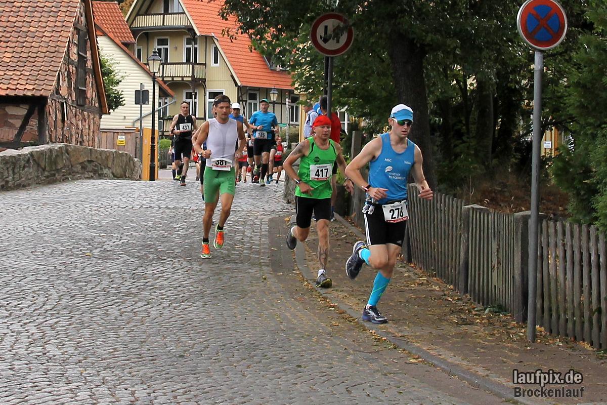 Brockenlauf 26km Start 2016 - 35