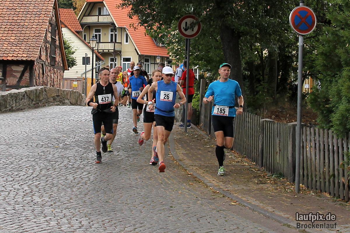 Brockenlauf 26km Start 2016 - 40