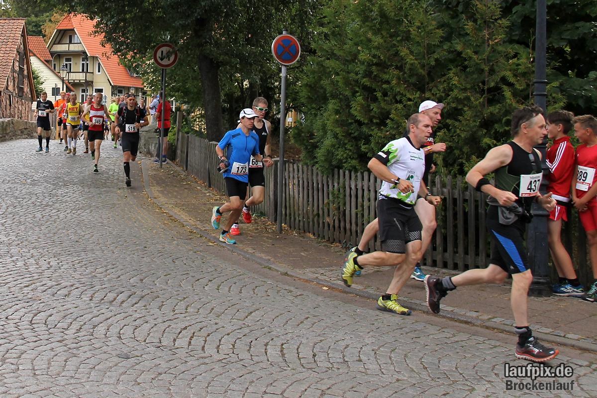 Brockenlauf 26km Start 2016 - 42